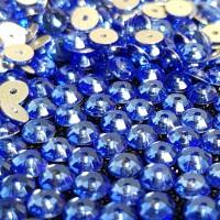 Crystal Payet Jahit Austria Lochrose 5mm - Sapphire