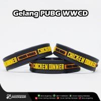 Gelang PUBG Winner Chicken Dinner - Premium Bracelet Player Unkown's
