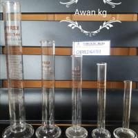 Harga jual gelas ukur pyrex atau measuring cylinder 100 ml | antitipu.com