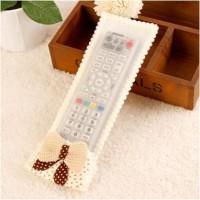 Remote Cover / Sarung Remote TV AC DVD Dll Pita Bunga