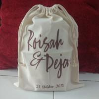 Tas Pouch Ransel Backpack ToteBag Belacu Blacu - Souvenir - Bridesmaid