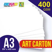 Kertas Karton Art Carton 400 gram A3 29.7 x 42 cm