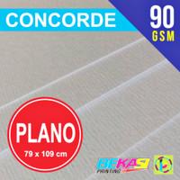 Kertas Concorde 90 GSM Plano 79 x 109 cm (Tipis)