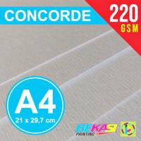 Kertas Karton Concorde 220 Gram A4 (Paper Contour Piagam Sertifikat)