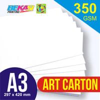 Kertas Karton Art Carton 350 gram A3 29.7 x 42 cm