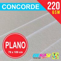 Kertas Karton Concorde 220 Gram ukuran PLANO