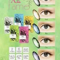 X2 Fame Softlens Violet + Free Lens Case
