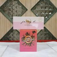 Paket minuman makanan diet pelangsing bellissimo chocolate + juicy D