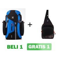 Tas Ransel Gunung / H-1902 Biru / Daypack Kamping Backpack Hiking Bags