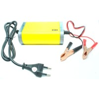 charger accu cas aki Portable Motorcrycle Car Battery Charger 12V 2A