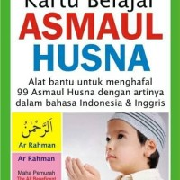 Flashcard | Kartu Pintar ASMAUL HUSNA - Flash Card Asmaul Husna