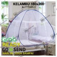 Kelambu Tempat Tidur BUTTERFLY Size 180x200cm