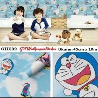 Wallpaper Stiker Doraemon 45cm×10m Wallpaper dinding Tempel Karakter