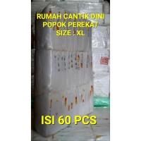POPOK DEWASA Uk XL -60 pcs