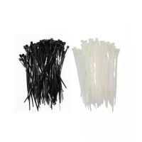 Kenmaster Cable Ties 3.6X20cmX50Pcs Black + White ( 2 Pack )