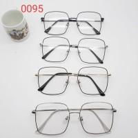 Frame kacamata korea unisex 0095 free lensa anti radiasi minus