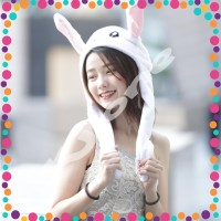 Topi Kelinci Lucu Rabbit Hat Dance Korea
