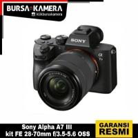 Sony Camera Alpha A7 III kit FE 28-70mm f/3.5-5.6 OSS
