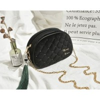 tas hitam wanita impor cewek selempang korea batam murah 11240 modis