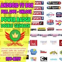 Android TV Box ZTE B860H Full Aplikasi Streaming TV Movies