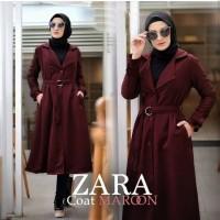 Tunik Zaracoat/Tunik Baloteli/Tunik Coat/Atasan Wanita/Mantel