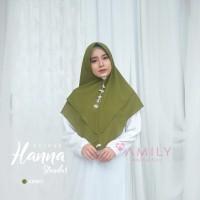 Khimar Hanna Standar ARMY Amily Hijab Bahan Soft Georgette
