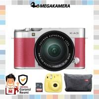 Harga fujifilm xa3 fuji xa3 xa3 kit 16 50mm x a3 kamera mirrorless   Pembandingharga.com