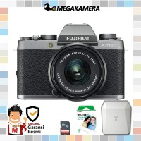 Harga fujifilm x t100 kit 15 45mm xf 35mm fujinon lens fuji xt100 | Pembandingharga.com