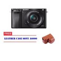 Kamera Sony Alpha A6000 Kit 16-50mm ILCE-6000L Camera Leather Case