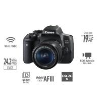 Kamera Canon Eos 750d Kit (18-55) Is Stm Camera