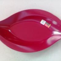 """Piring Mangga Mata 10"""" Merah Maron Melamine - Golden Dragon P1110"""