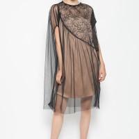 ATELIER MODE Cocktail Dress Brocade Asymetrique Trapeze Maya Dress