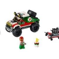 HOT SALE Lego 60115 City - 4 x 4 Off Roader Terjamin