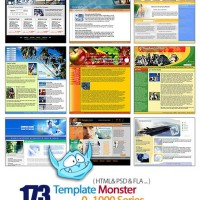 Template Tema Desain Website - Template Monster 0-1000
