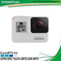 GOPRO HERO 7 BLACK LIMITED EDITION DUSK WHITE - GOPRO HERO7 RESMI