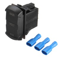 Best Selling Dual Usb Adapter Charger & Cigarette Lighter Sockets &