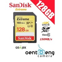 sandisk sdxc 128gb extreme up to 150mb/s