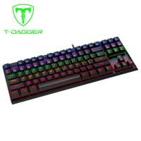 T-Dagger Corvette T-TGK302 Mechanical Keyboard Gaming With Oetemu Blue