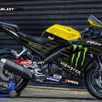Decal Stiker R15 V3 Yellow MOnster GP 2019 ( FULLBODY)