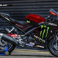 Decal Stiker R15 V3 Red Monster GP 2019 ( FULLBODY)