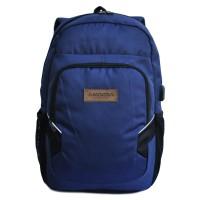 Tas Ransel Amooba Backpack Micola A70199 - Navy