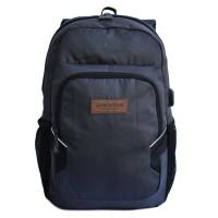 Tas Ransel Amooba Backpack Micola A70199 - Grey