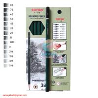 Pensil Gambar Drawing Pencil Tipe 3B JOYKO P-118