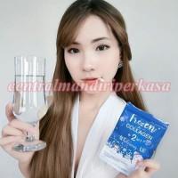 Kulit Putih Bersih mulus Bercahaya Frozen Premium Collagen 2 in 1