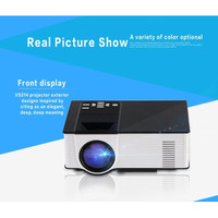 Mini Projector Vision VS314 Wifi TV Tuner Mirip Hiplay Cheerlux