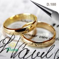 Cincin Kawin Tunangan Perak D.180 (SINGLE)