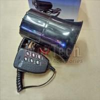 Kelakson Klakson Horn Toa Alarm Polisi 6 Suara + Mic Semua Motor