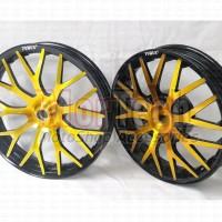 Velg Pelek Racing Motor Power Evolution Ring 14 yamaha LEXI 125 Gold