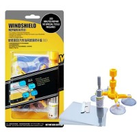 Set Alat Reparasi Kaca Mobil / Windshield Tools DIY