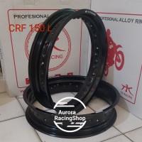 Velg TK Bright CRF 150 L Super Moto 17 x 250 / 350 warna Black